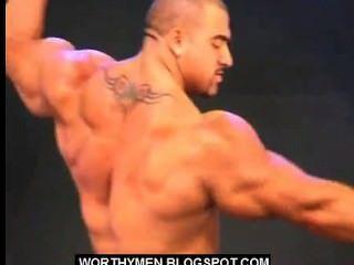 Bodybuilder großes Stück Perfektion