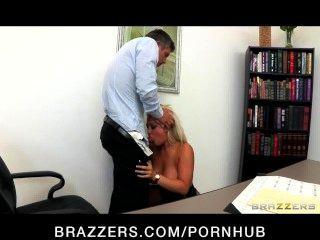 unglaublich heiß fickt big-Tit blonde Chef dayna Vandetta Mitarbeiter