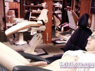 Lelu Liebe-weiblich Zahnarzt verführt Patient