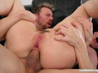 livegonzo Dana DeArmond ist für anal klafft Nüsse