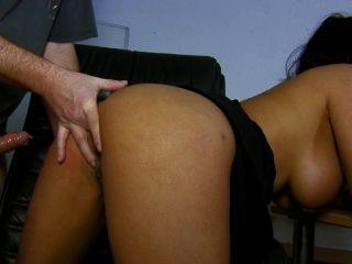 big-tits latina Rabe bekommt den Arsch auf Webcam abgefuckt