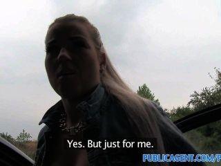 publicagent hot blonde teen ficken in meinem Auto