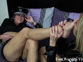 Offizier Fuß Liebe