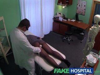 fakehospital Kameras versteckte Fang Patientin Massage-Tool mit
