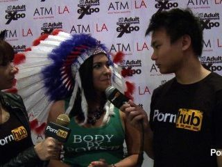 pornhubtv Danica dillon Interview bei 2014 AVN Awards