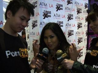 pornhubtv jessica bangkok Interview bei 2014 AVN Awards