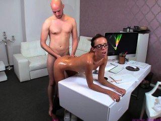 Leder-Leggings # 5 - gina Devine