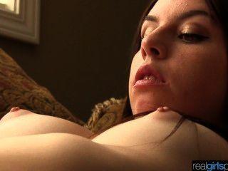 echte 18-jährige khloe versucht anal und Masturbationsszene