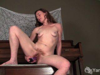 rüstig ana Fick Dildo für Orgasmus