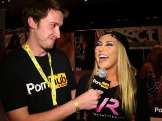 pornhubtv Carter Cruise Interview bei Exxxotica 2014 Atlantic City