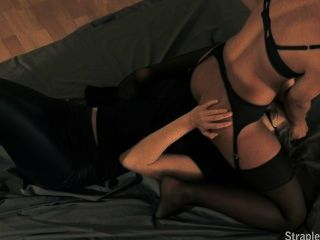 Leder-Leggings # 16 - Victoria & zerrissene
