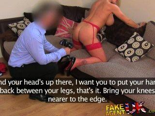 fakeagentuk unglaublich sexy blonde Milf liebt alle Dinge anal