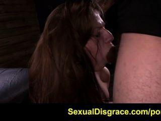 dillion Fuhrmann erweist sich als ein Hahn hungrig Sex Sklave zu sein
