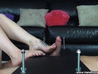 rylie Wichsen und foot