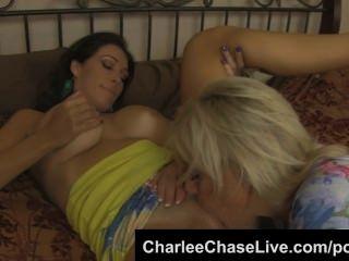 charlee chase big Tit Tabu Muschi mit Schlampe Schritt Schwester lecken