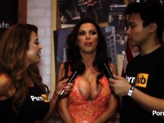 pornhubtv Nikki Benz Interview bei 2015 AVN Awards