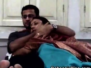 Indisches Paar hausgemachten Sex