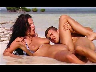 fantastische Dame anal sex Strand