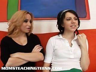 MILF Lehre Teen Schlampe Hardcore-Sex