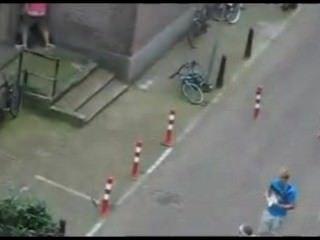 realen Straßen Sex in Amsterdam