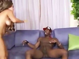 19 alt Jahre katie cummings liebt schwarze Wurst in ihre Muschi
