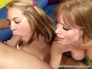 kimberly und ihre Mutter einen massiven dicken Schwanz ficken
