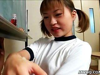 itsuki wakana gibt einen schönen Wichsen