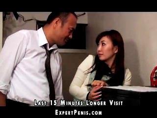 Schwiegervater fickt japanische Frau