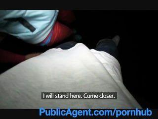 publicagent lucy bekommt meine großen Schwanz in ihr hinter dem Bahnhof
