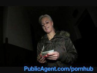 publicagent nette blonde fickt mich im Laden Keller
