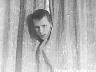 authentischen Vintage Porno 1950er Jahre - rasierte Muschi, Voyeurismus Fick