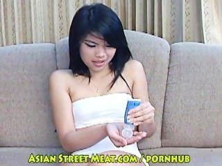 thai Trainee Teeny Supermarkt Mädchen