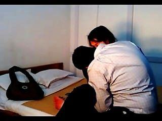 indische College-Paar ficken in die Privatsphäre durch versteckte Kamera aufgezeichnet