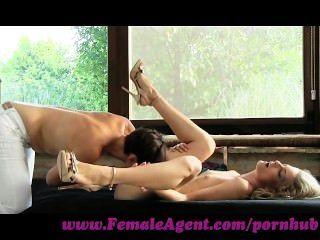 weiblicher Agent. sexuelle Dynamit entfesselt