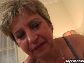 Ich habe gerade meine Mutter seinen Schwanz reiten