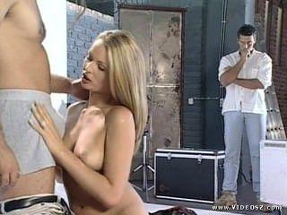 Nikki Anderson - Mode-Modell Foto-Shooting dreht Sex zu dritt