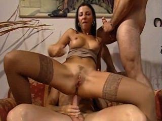 maria Bellucci Double Penetration