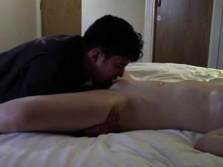 neckten und bis schließlich einen Orgasmus tantalised.