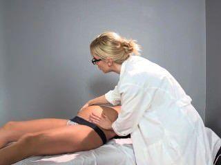 Sadie holmes schwanger - Arzt hilft ihr Patient einen Orgasmus zu erreichen