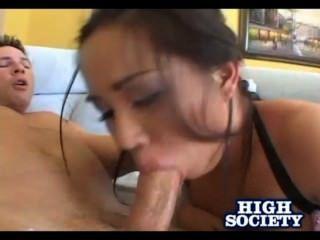 heiße asiatische Charlene Akira Dick Saugen