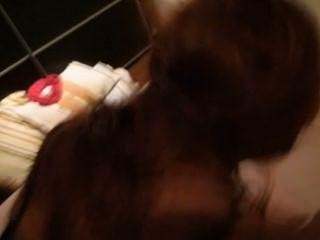 dogstyle-mein Nachbar Sperma auf meinem Gesicht