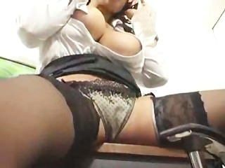 Telefon-Sex auf ihrem Höhepunkt