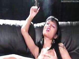 Zigarette und einen Orgasmus