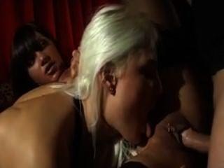 anal Trio blond & brunette