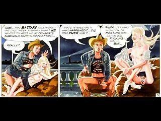 dünn geile blonde riesige Schwänze Comics