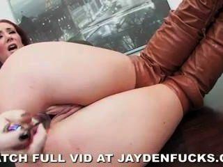 Jayden Jaymes ist im Büro frechen