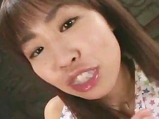 asiatisch gang bang mit viel Sperma Teil 1