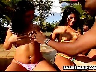 bbw brasilianische Orgie Porno