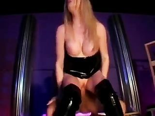 blonde anal Latex