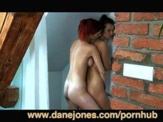 danejones heißen Lesben Dusche Sex